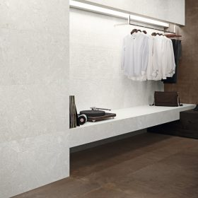 Porto Petro Wall Tiles in a dressing roomsetting.